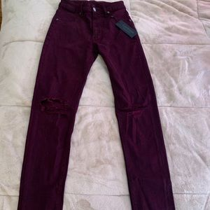 Red Wash Carmar Jeans BRAND NEW WITH TAGS ON